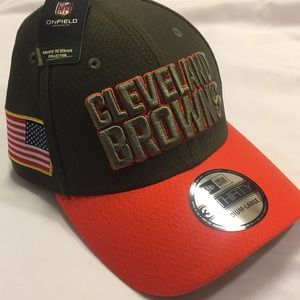 NWT New Era Cleveland Browns Military Onfield Hat